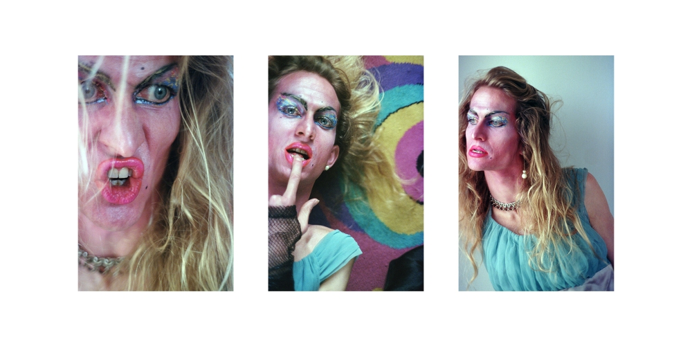 "Anna van der Meulen, Triptych from the ""3304 St. Clair Series"",1988.  6 x 4 x ½ inches each; metal prints on aluminum with a sheer matte finish. Courtesy of The Jerome Project / Anthony Cianciolo  © Anna van der Meulen"